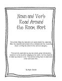 Noun and Verb Read Around the Room Sort