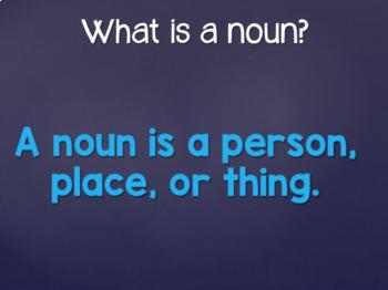 Noun and Verb Review PP