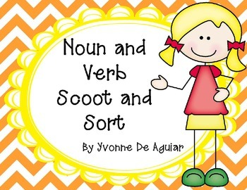 Noun and Verb Scoot and Sort