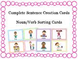 Noun and Verb Cards