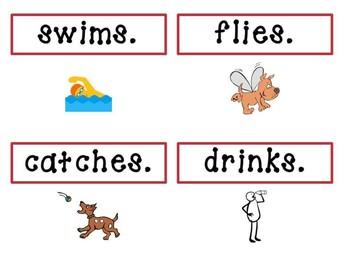 Noun and Verb Simple Sentence - Level 2 VIPKID