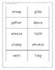 Noun and Verb Sort Level 3