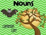 Noun cards with recording sheet