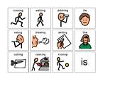 Noun is Verb-ing PECS