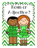 Noun or Adjective? St. Patrick's Day Activities