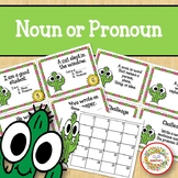 Noun or Pronoun Task Cards - Cactus