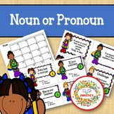 Noun or Pronoun Task Cards - Superhero