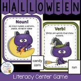Halloween Noun or Verb? A Halloween Literacy Center Game