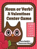 St Valentine's Day Noun or Verb? Center Game, Task Cards a