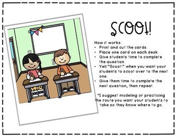 Noun or Verb? Scoot!
