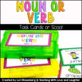 Noun or Verb Scoot or Task Cards