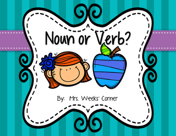 Noun or Verb Sort