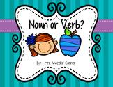 Noun or Verb Sort