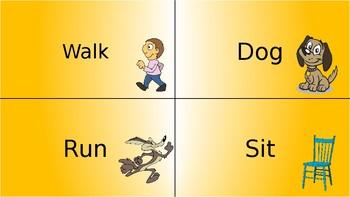 Noun or Verb? Task Cards Sort