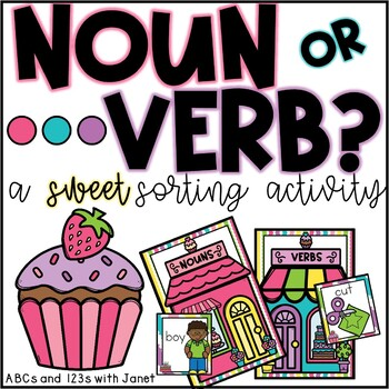 Noun or Verb? {sorting activity}