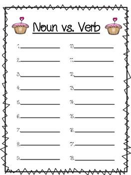 Noun vs. Verb