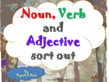 Noun,Verb And Adjective sort out