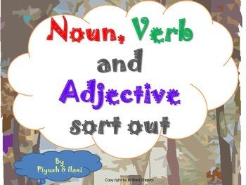Noun,Verb And Adjective sort out