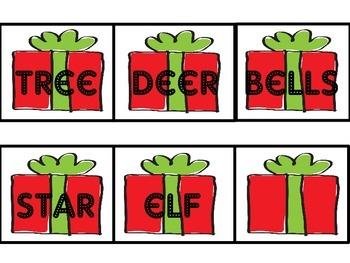 Noun/Verb Santa Sort from Reading Wonders Series