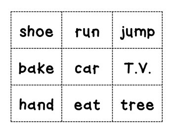 Noun/Verb Sort