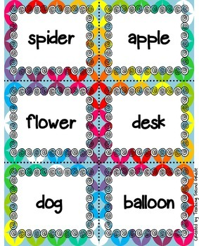 Nouns Sorting Activity