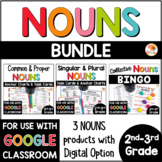 Common and Proper Nouns, Singular Nouns , Plural and Collective Nouns BUNDLE