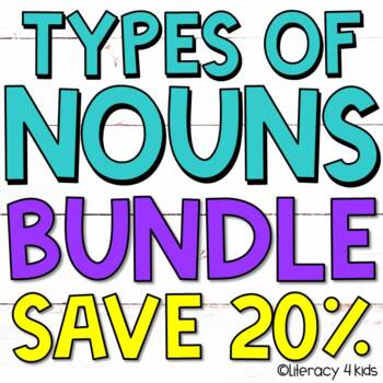 Irregular Plural Nouns, Abstract Nouns, Regular Plural Nouns Task Cards BUNDLE