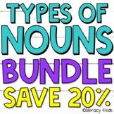 Irregular Plural Nouns, Abstract Nouns, Regular Plural Nouns Task Cards BUNDLE