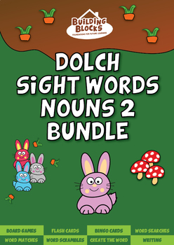 Nouns 2 Dolch Sight Words Bundle