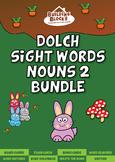 Nouns 2 Dolch Sight Words Bundle