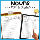 Common & Proper Nouns | Possessive Nouns Digital