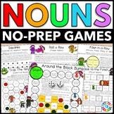 Nouns Games: Plural Nouns, Proper Nouns, Possessive Nouns, Irregular Plurals...