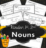 Nouns for kindergarten | Nouns for 1st grade | Nouns for 2nd grade