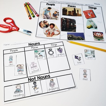 Nouns Printables and Activities