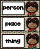 Nouns   Christmas Literacy Center   Parts of Speech