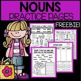 Noun Worksheets | Noun Activities | 1st | 2nd