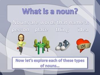 Noun PowerPoint Lesson