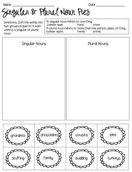 Nouns- 2nd Grade