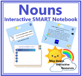 Interactive Nouns Introduction Activity for IWB FREEBIE