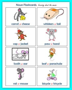 Nouns (80 Fluency Flashcards)
