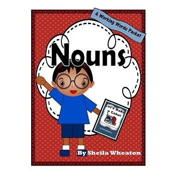 Nouns:  A Working Words Packet for Young Readers
