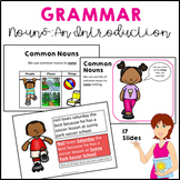 Parts of Speech: Nouns Common and Proper Grammar An Introduction