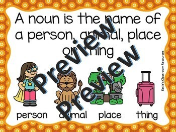 Parts of Speech - Nouns Grades K-2
