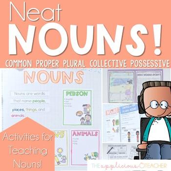 Nouns Activities | Plural Nouns | Proper Nouns | Collective | Possessive Nouns