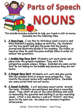Nouns: Activities for Teaching and Review