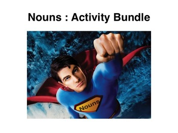 Nouns: Activity Bundle