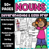 Noun Activities Worksheets