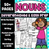 Nouns Activities Worksheets