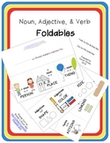 Nouns, Adjectives, and Verbs 3-Flap Folding