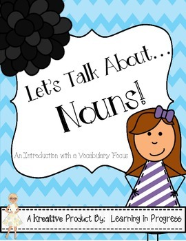 Nouns:  An Interactive Mini Book with a Focus on Vocabulary